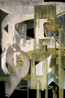 ©Ridenour_Cement Sculpture Abstract-37