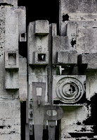©Ridenour_Cement Sculpture Abstract-31