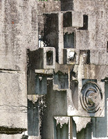 ©Ridenour_Cement Sculpture Abstract-7